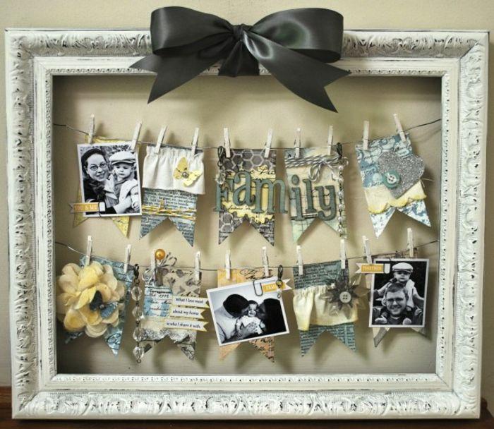 cuadro negro lazo decorados salidas vintage