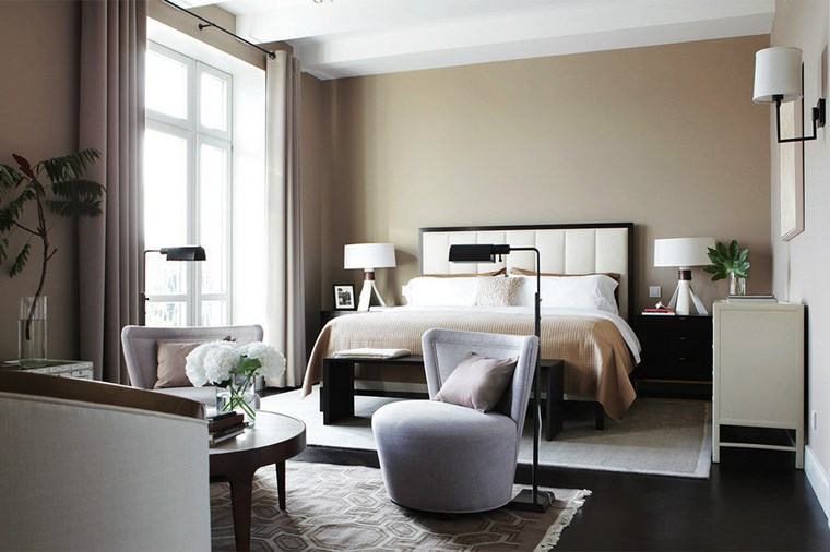 cuadros pared dormitorio moderno muebles salon ideas