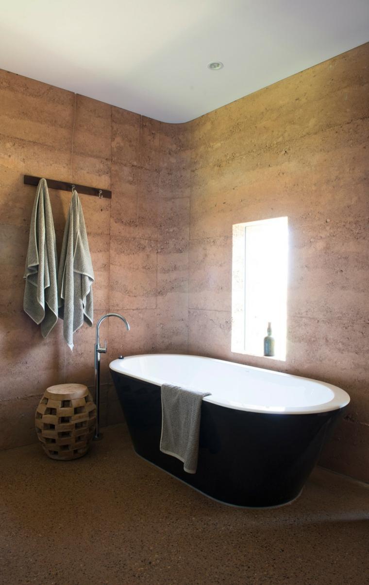 modern country house bathroom