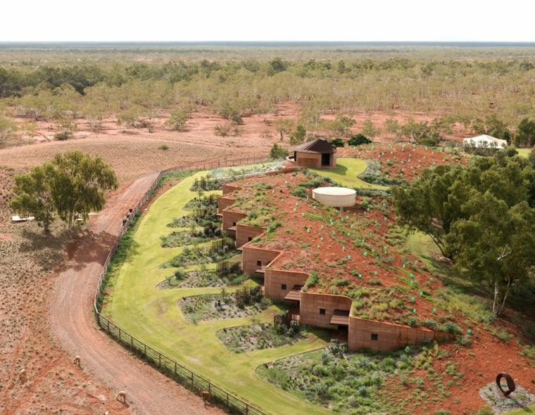 cubiertas vegetales arquitectura moderna campo