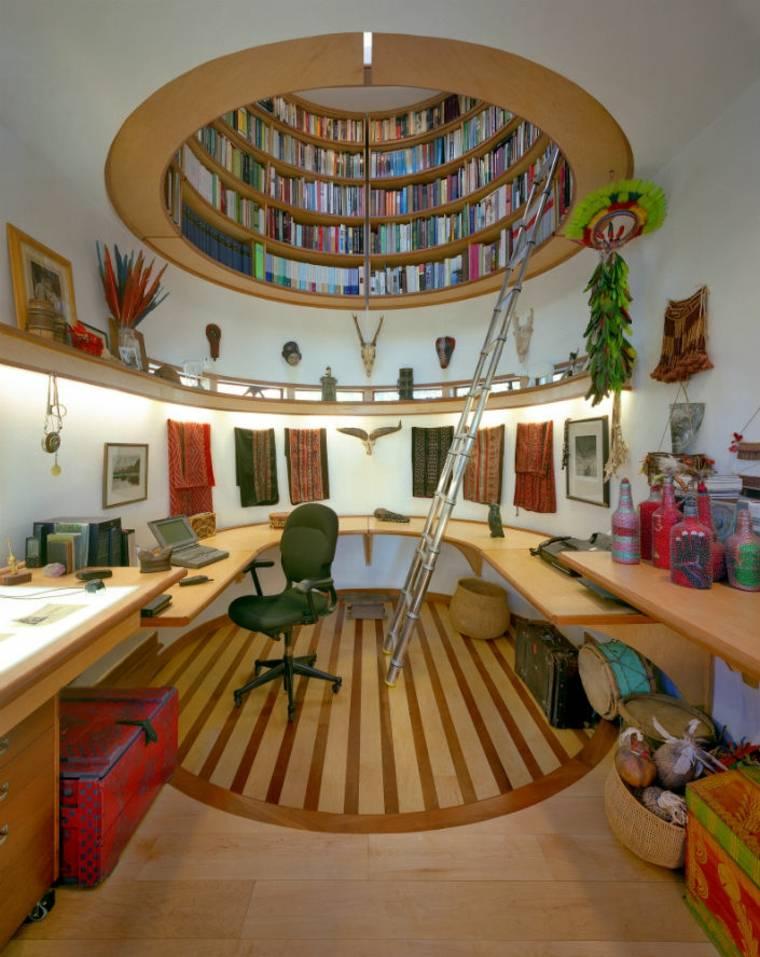 impresionante biblioteca