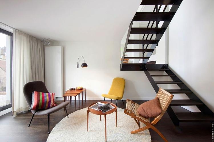decoración sala estar minimal
