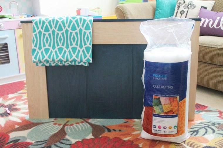 materiales construir cabecero casero cabecero tapizado en tela