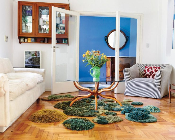 alfombras naturales originales musgos