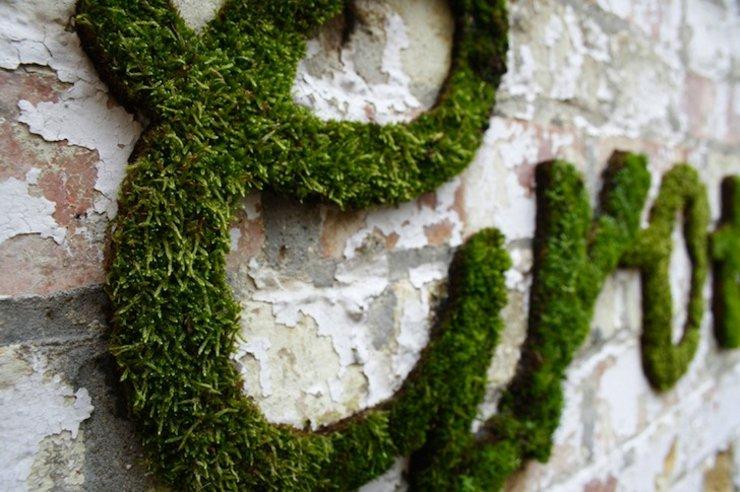 letras decorativas paredes patio