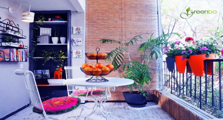 decoración terrazas pequeñas modernas