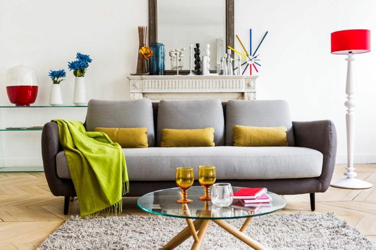 decoración accesorios colores vivos
