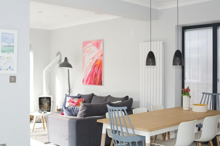 decoración nórdica espacios pequeños