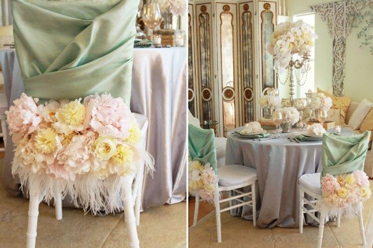 original decoracion de bodas vintage