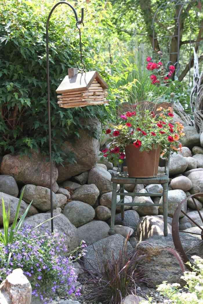 Decoracion de jardines rusticos con encanto natural - Decorar jardines rusticos ...