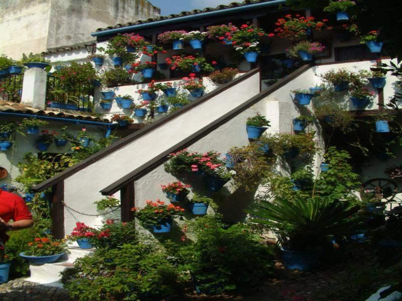 Decoracion andaluza motivos patrones y colores con for Patio decorado