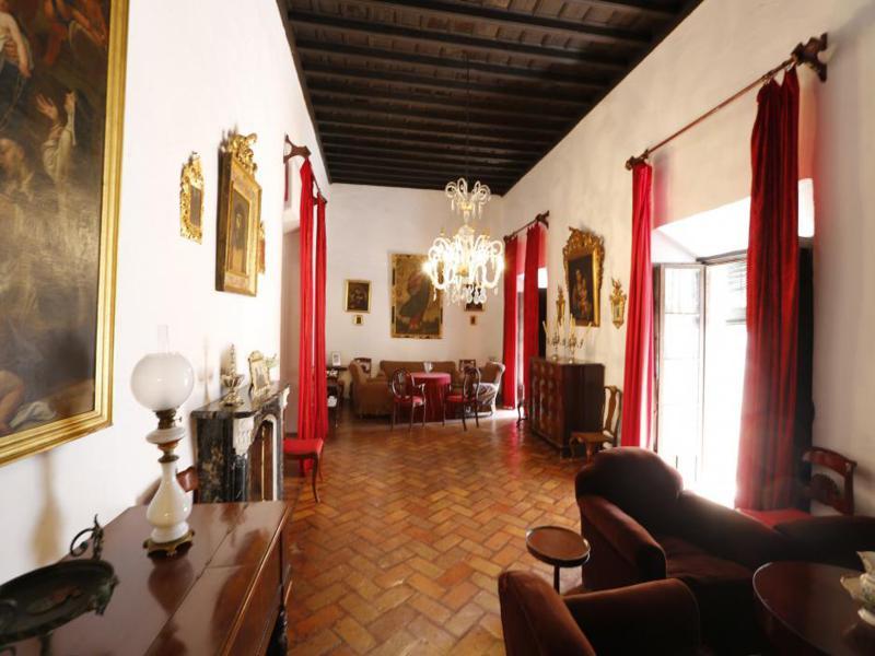 decoración lujosa caserio andaluz