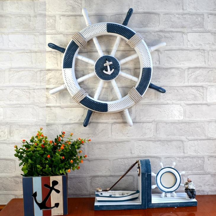 decoracion marinera salones azules azules detalles