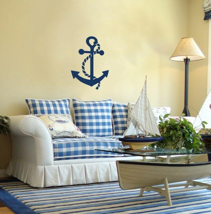 Decoracion marinera, 50 ideas para ambientes frescos. -
