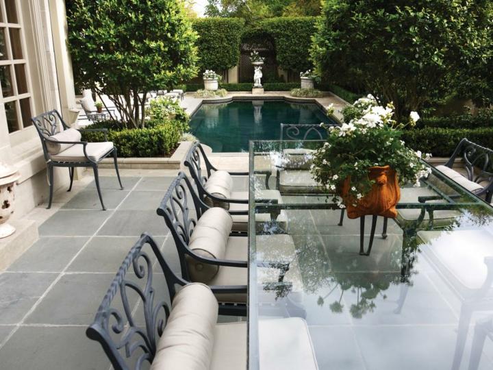 Decoracion mesa jardin y espacios exteriores de encanto - Comedores de jardin ...