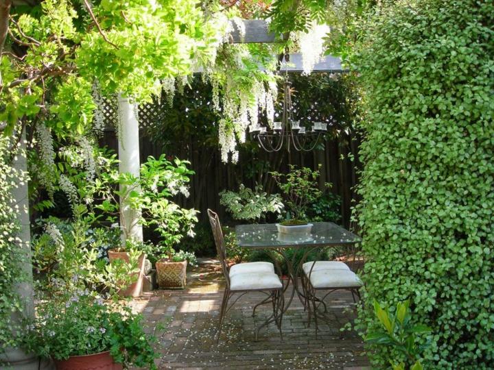 decoracion mesa jardin soluciones sitios bajo