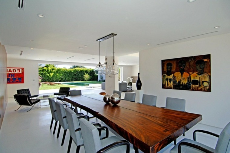 diseño moderno comedor mesa