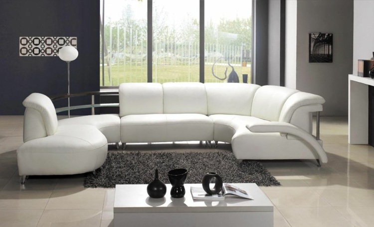 decoración moderna gris blanco
