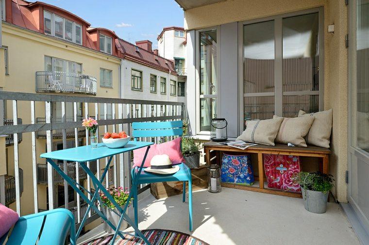 decoracion para balcones opciones muebles colores ideas