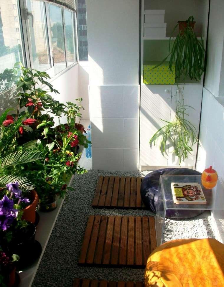 decoracion para balcones opciones espacios cerrados ideas