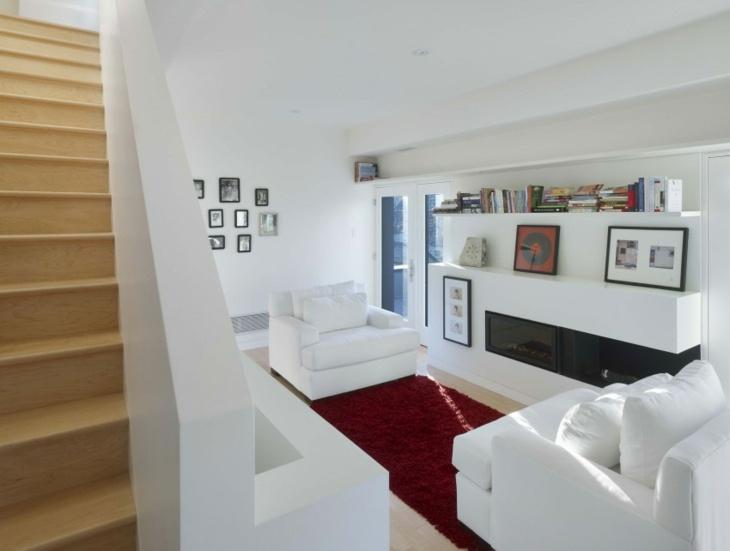 Decoracion salones con chimenea en ambientes acogedores - Decoracion chimeneas salon ...