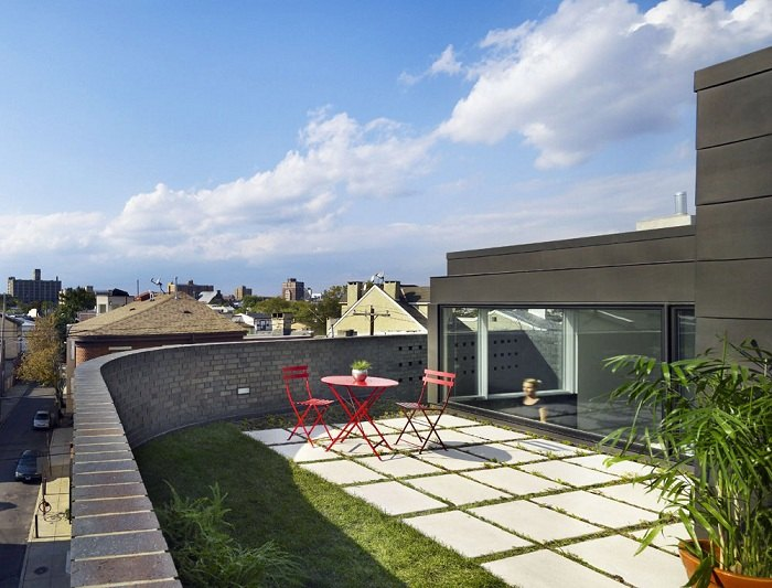terrazas con jardin elegantes ciudades