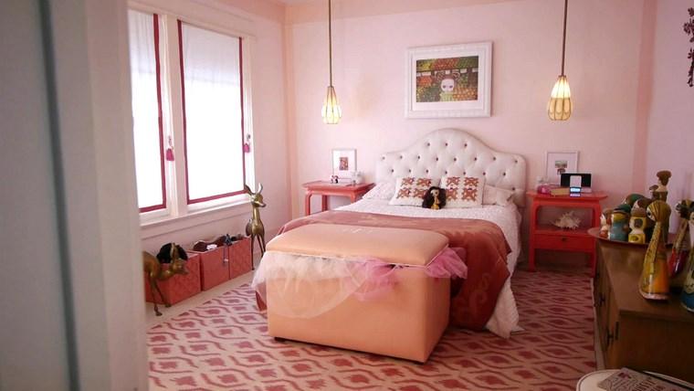 decorar habitacion niña cofre cama bonita ideas