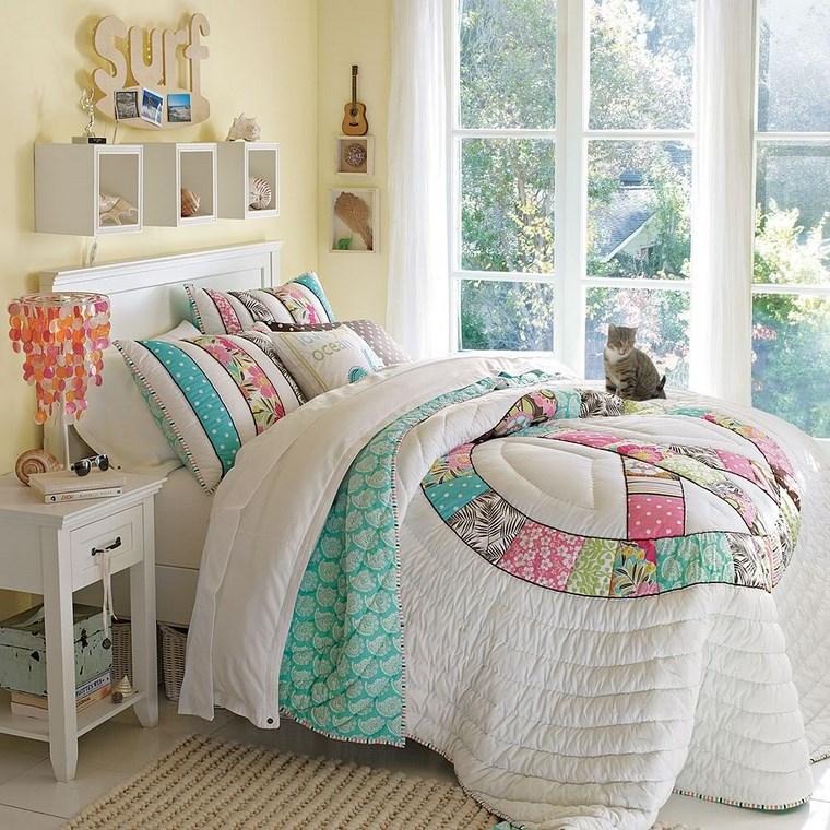 decorar habitacion nia estantes blancos pared ideas with decoracion de habitacion para nios