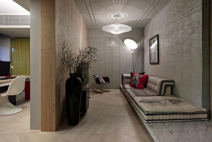 sofas ideas diseños asistencias maderas jarrones