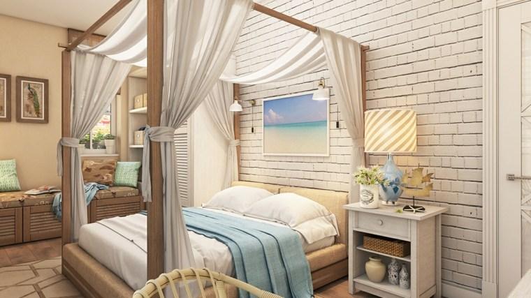 detalles y mas opciones dormitorio moderno cama dosel ideas