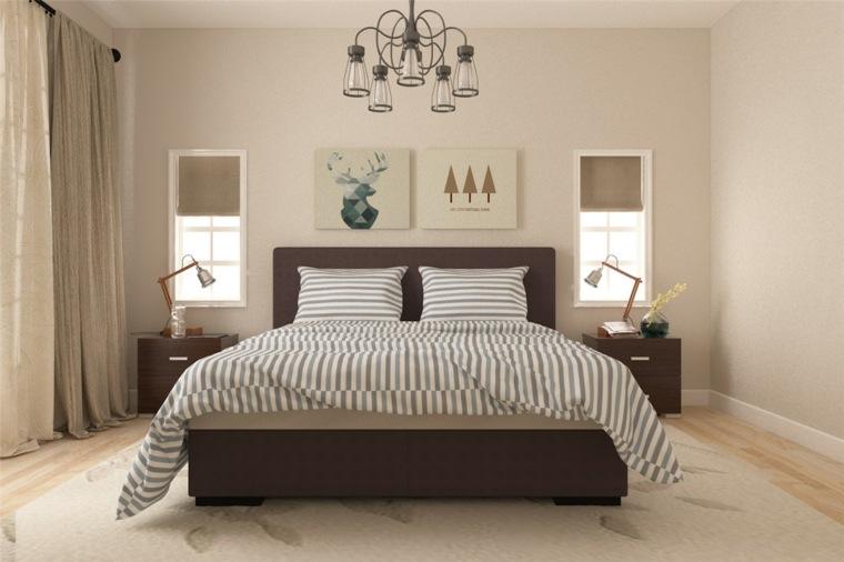 detalles y mas opciones dormitorio moderno cuadros ideas