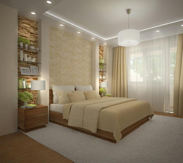 Detalles y mas opciones para decorar el dormitorio moderno - Iluminacion habitacion matrimonio ...