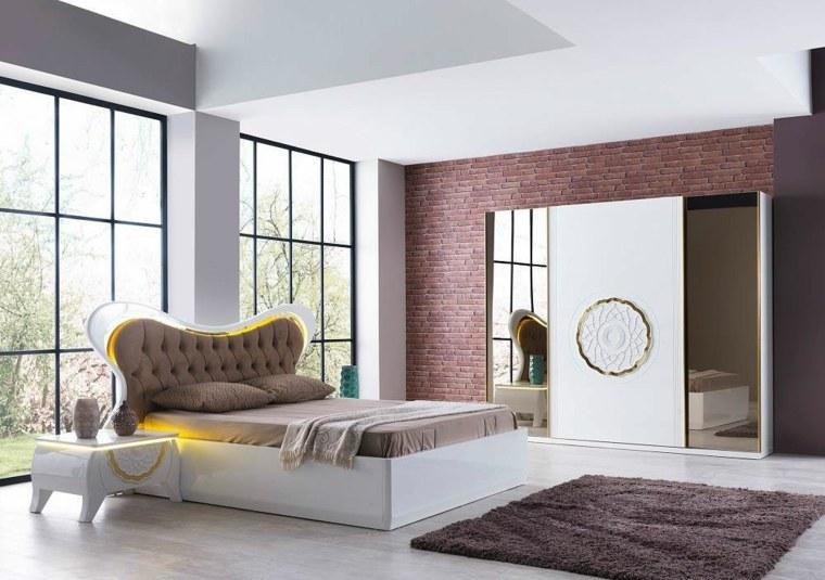 detalles y mas opciones dormitorio moderno iluminacion cama ideas