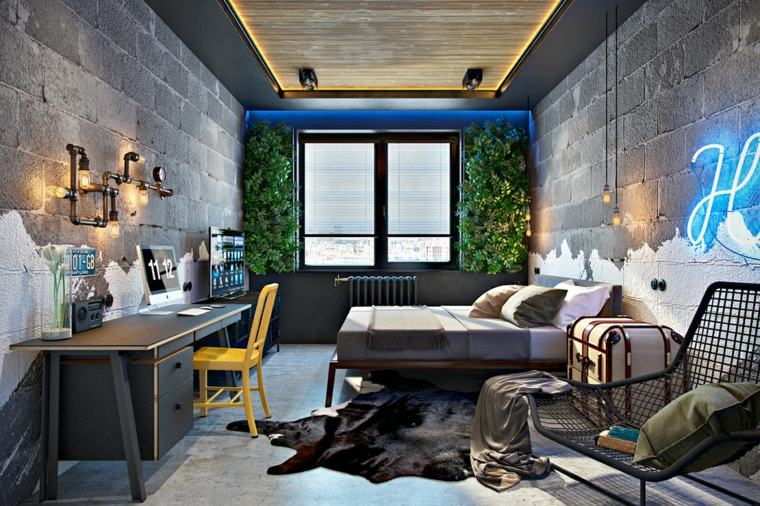 detalles y mas opciones dormitorio moderno jardin vertical ideas
