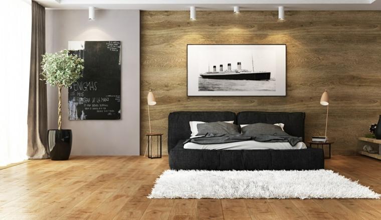 detalles y mas opciones dormitorio moderno maceta negra ideas