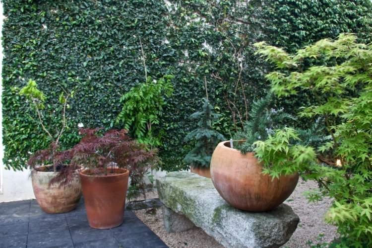 diseñar jardines terrzas modernas