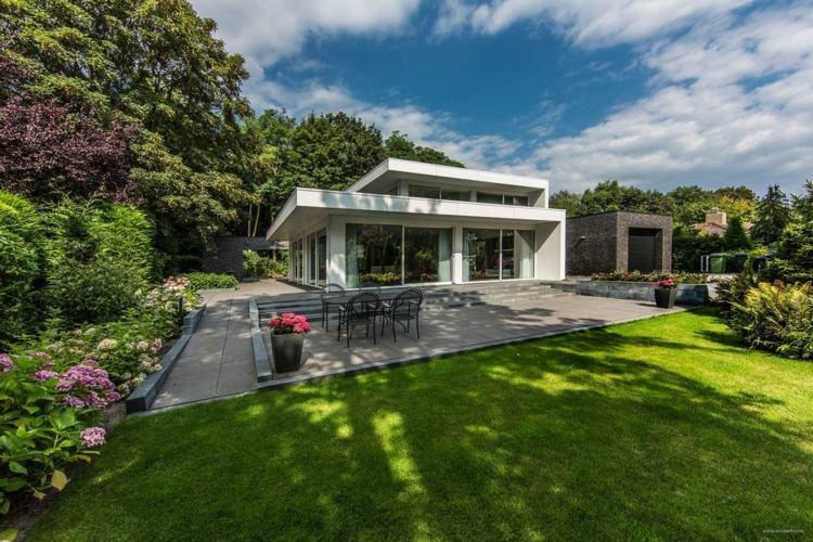 diseño paisaje casas modernas minimalismo