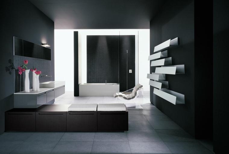 diseño baño estilo minimalista