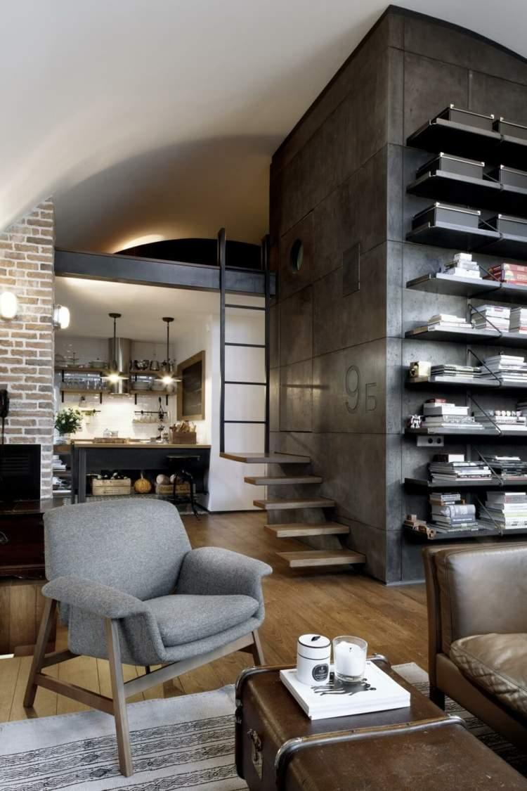 Librerias para salon dise os modernos y funcionales - Salones de diseno ...