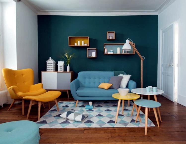 diseño decoración colores complementarios
