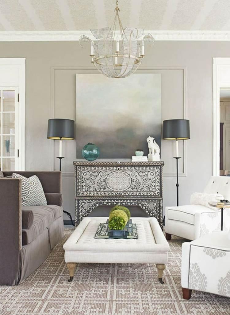 diseño decoracion sala estar vintage