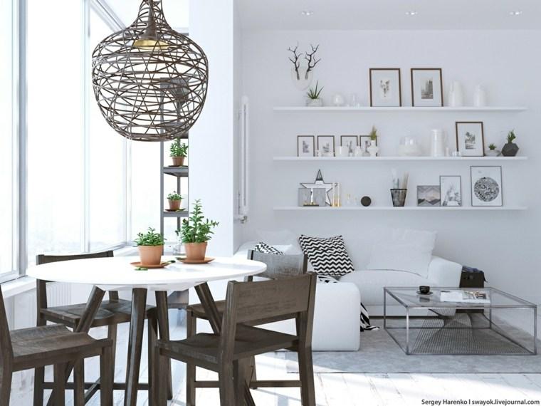 diseño espacio comedor moderno deco
