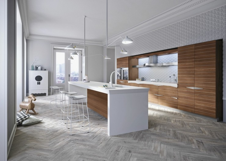 diseño italiano variantes cocinas detalles blanco