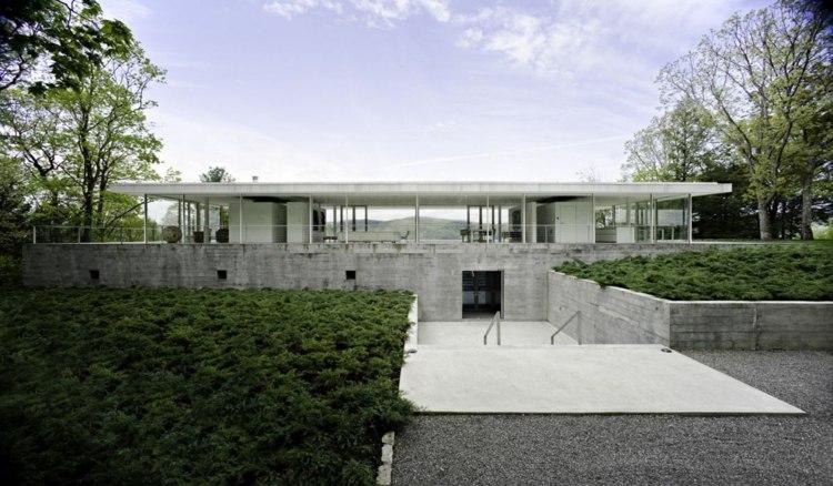 diseño jardin moderno patio exterior