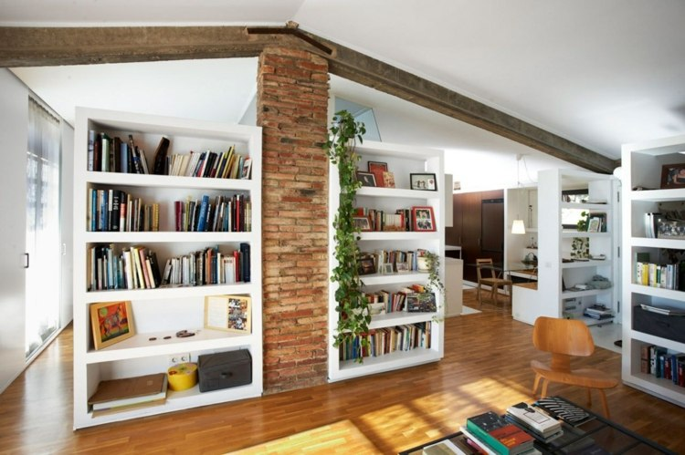 Librerias para salon dise os modernos y funcionales for Librerias salon modernas
