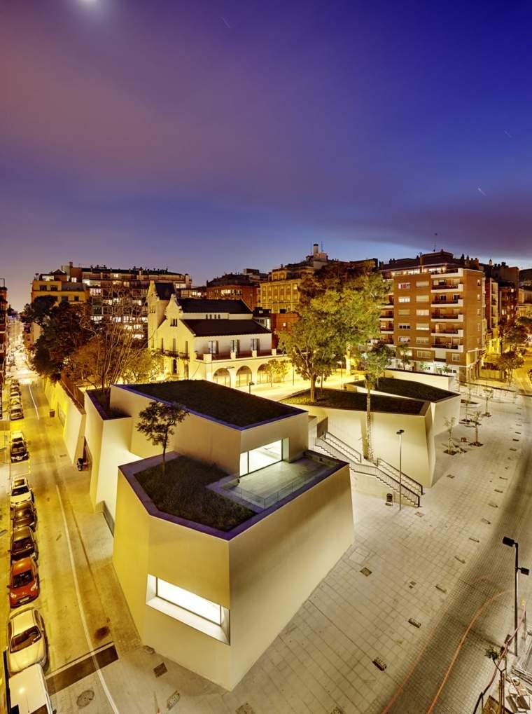 modern design roof terrace Spain