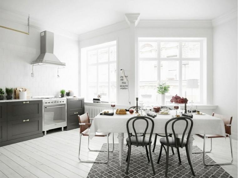 diseño original cocina comedor