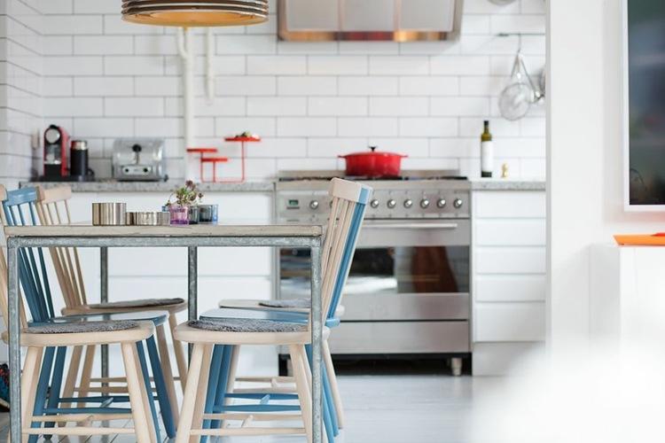 diseño cocina moderna pequeña