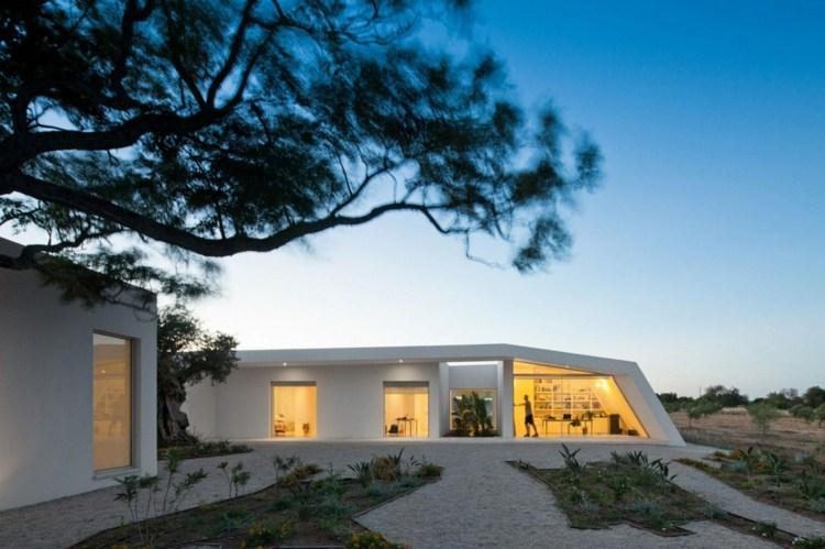 diseño paisaje desértico estilo contemporáneo