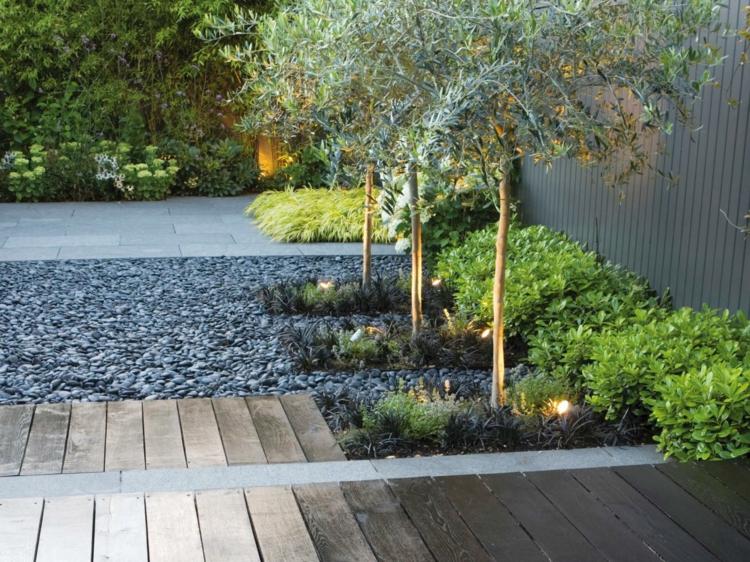 diseño minimalismo paisaje estilo zen